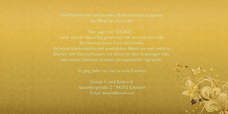Kartenparadies Danksagung Danksagung Danksagung für Hochzeitsgeschenke Hochzeit Danke Din Liebeswunder, hochwertige Danksagungskarte Hochzeitsglückwünsche inklusive Umschläge   10 Karten - (Format  215x105 mm) Farbe  DunkelGelb B01NAVS48Z | Sehr gute Qualit 61016a