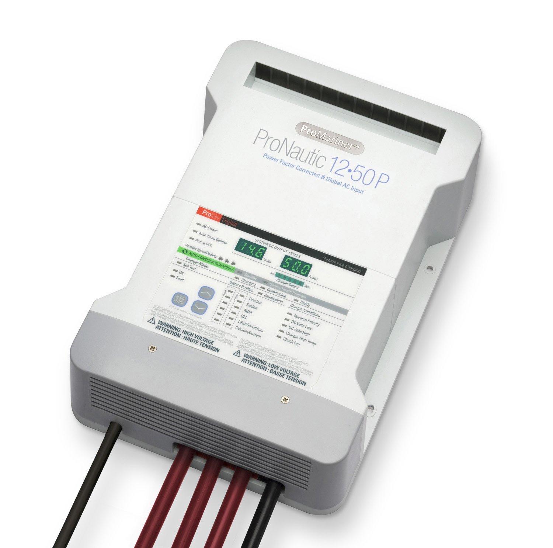 Pro Mariner Pro Nautic 1250 12 Volt 50 Amp 3 Bank Charger