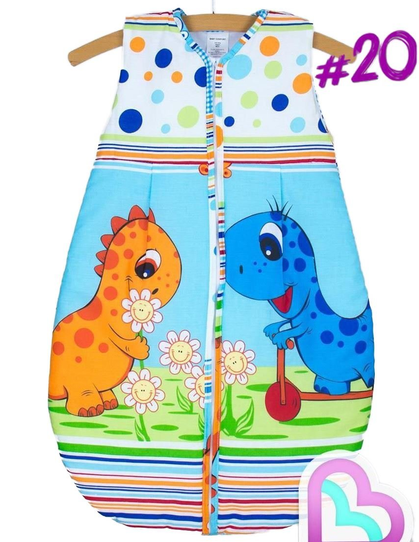 Newborn Sleeping Bag 6-18 Months, 86cm Short Sleeve - Pattern 20 Baby Comfort