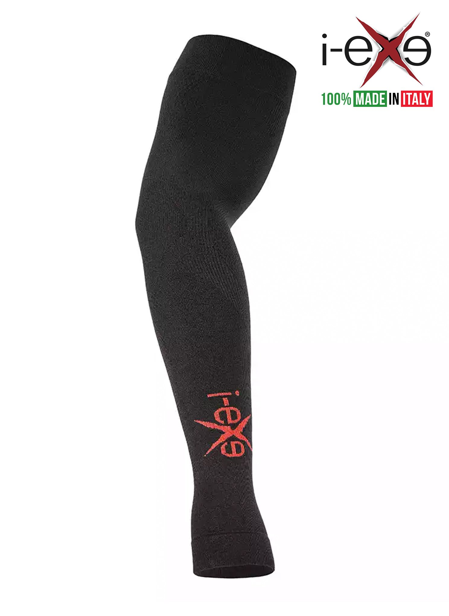 I-EXE - Made in Italy - MEDIXSPORT LINE/Compression Arm Warmer Sleeves/For Men Women Nurses Athletes/For Cycling, Jogging, Running, Hiking, Gym, Fitness/Improving Endurance, Muscle Recovery
