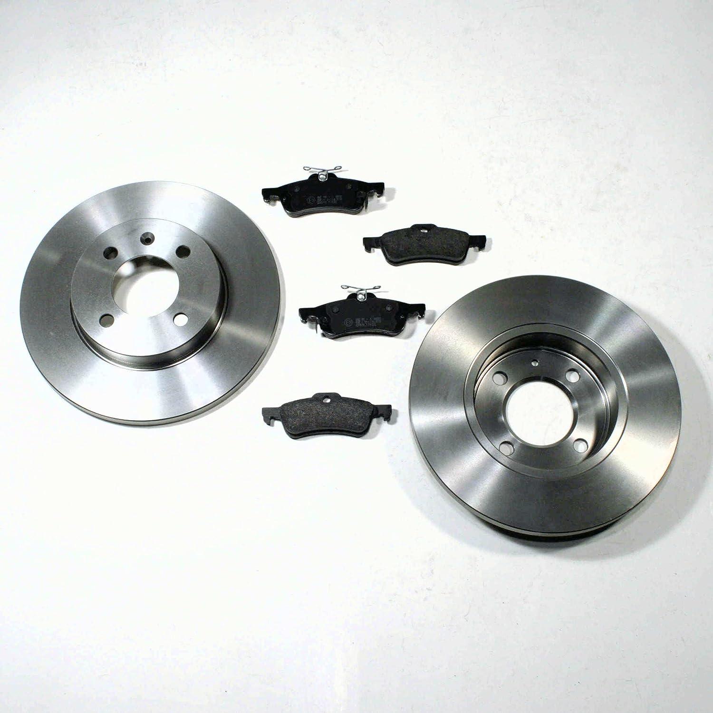Bremsscheiben 269 mm//Bremsen Bremsbel/äge hinten