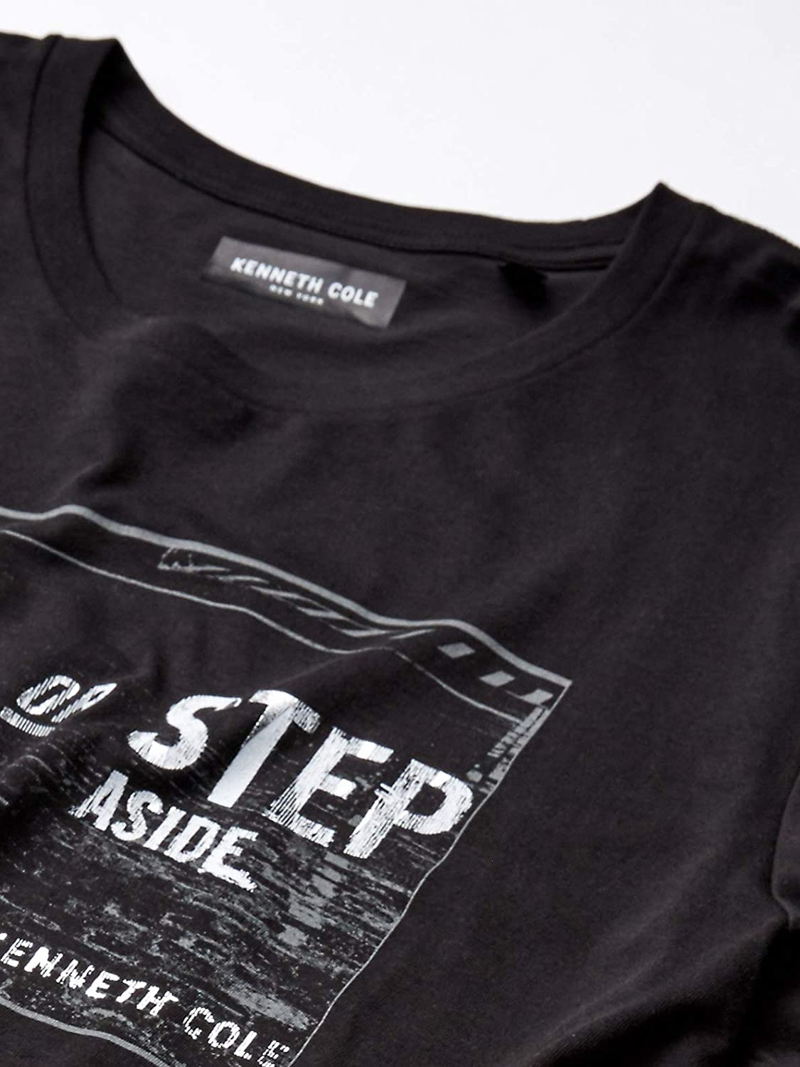 Kenneth Cole REACTION Mens Short Sleeve Graphic Tee