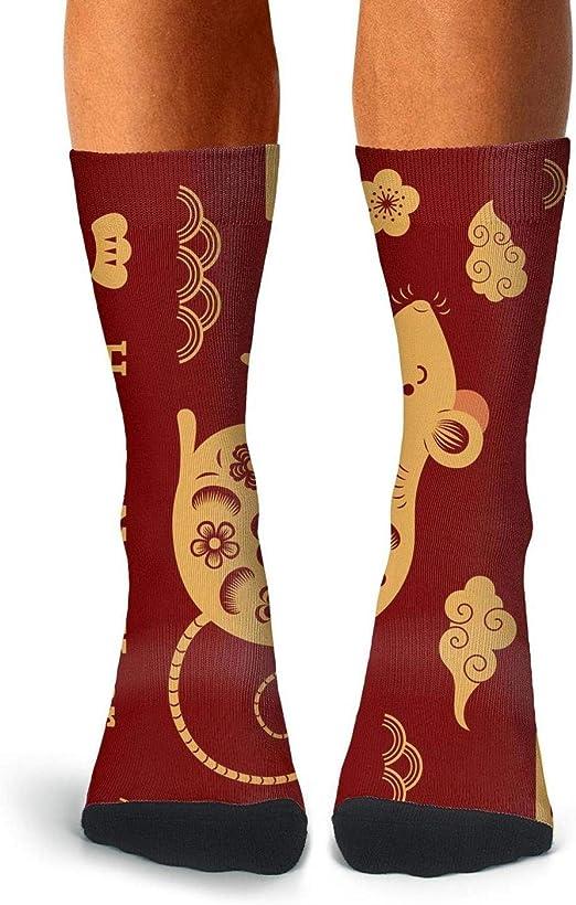 China Country Flag Fun Cool Novelty 11 Inch Men Women Socks