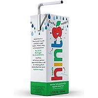 Hint Kids Water Apple (Pack of 32) 6.75 Ounce Bottles Pure Water Infused Apple Zero Sugar Zero Calories Zero Sweeteners Zero Preservatives Zero Artificial Flavors