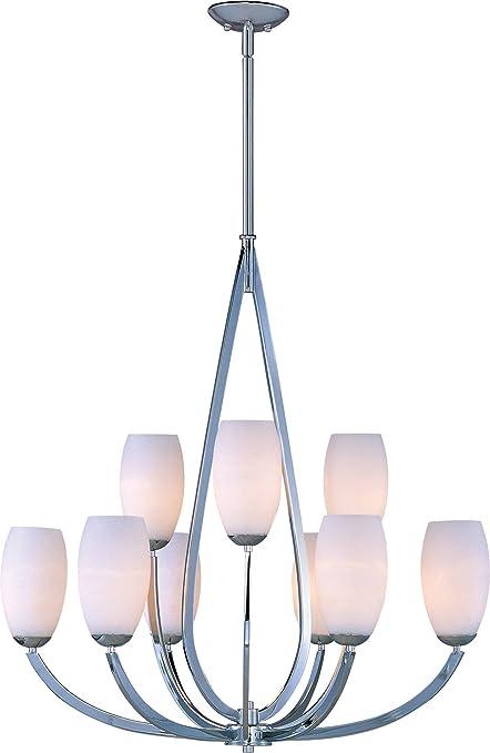 Amazon maxim lighting 22176swpc elan multi tier chandelier elan maxim lighting 22176swpc elan multi tier chandelier elan 9 light chandelier mozeypictures Gallery