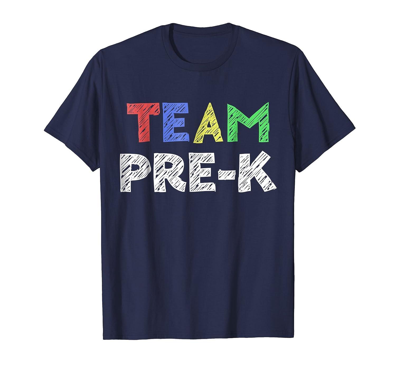 Team Pre K Teacher T Shirt Back To School Gift Shirt-Teesml