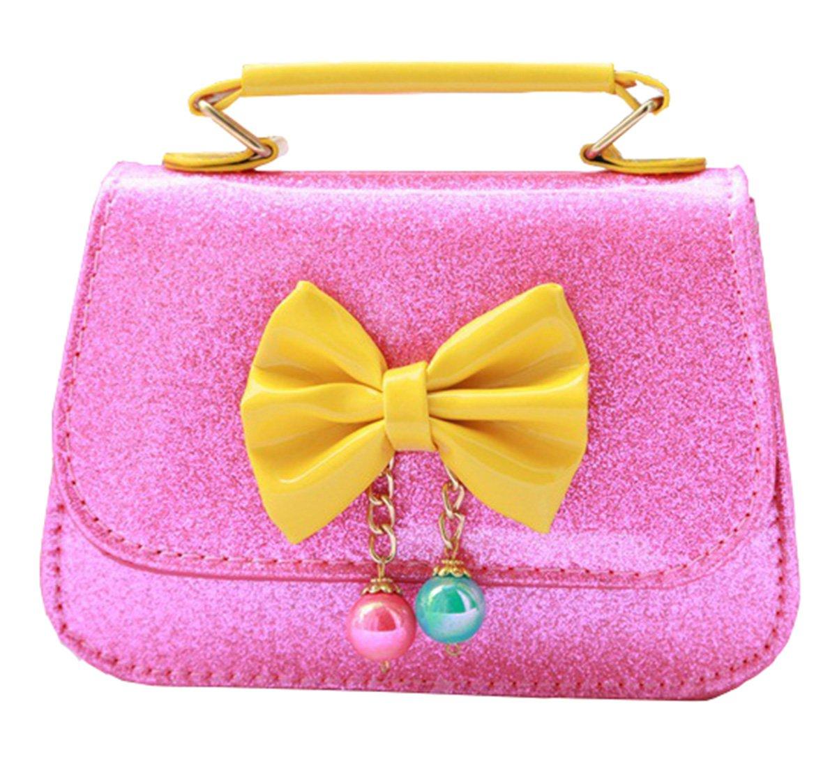 Happy Cherry Little Girls Kids Toddler Children Fashionable Handbag One- Shoulder Crossbody Shoulder Messenger Purse Bag Practical Satchel YOUHUI