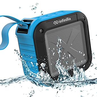 Review Infinilla Waterproof Bluetooth Speakers,
