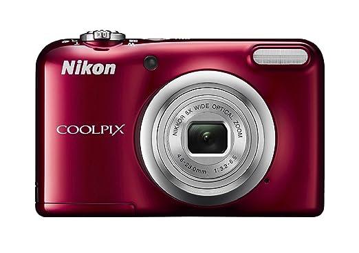 """8 opinioni per Nikon COOLPIX A10 Compact camera 16.1MP 1/2.3"""" CCD 4608 x 3456pixels Red-"""