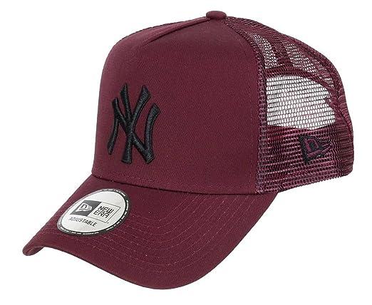 Gorra trucker League Essential New York Yankees Burdeos New Era
