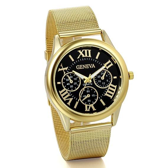 891deb3118d0 JewelryWe Reloj Dorado