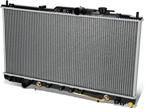 AutoShack RK946 28.3in Complete Radiator Replacement for 2001-2005 Chrysler Sebring Dodge Stratus 2000-2005 Mitsubishi Eclipse 2.4L