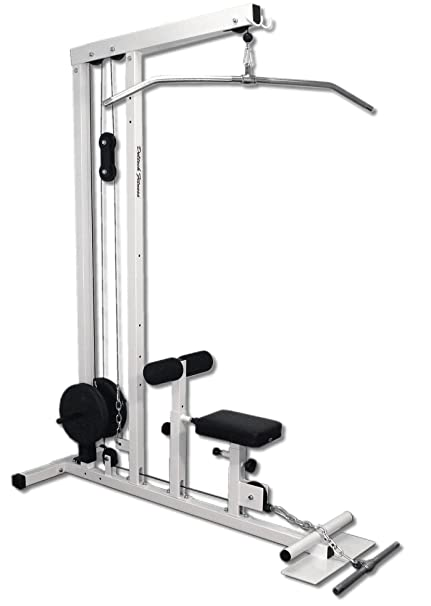 b2680191e2558 Image Unavailable. Image not available for. Color  Deltech Fitness Lat  Pulldown Machine