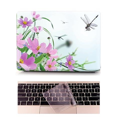 Funda MacBook 12 Carcasa - L2W Ordenadores Portátiles para Apple MacBook 12 Pulgadas con Pantalla Retina