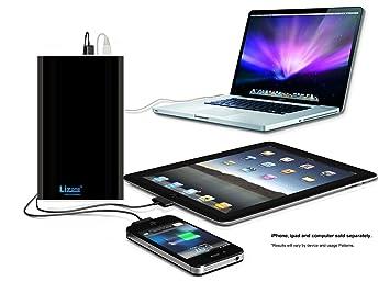 Lizone® Extra Pro 60000mAh súper capacidad Power Bank Batería Externa Cargador Portátil para Apple MacBook, Notebooks Dell, HP, ...