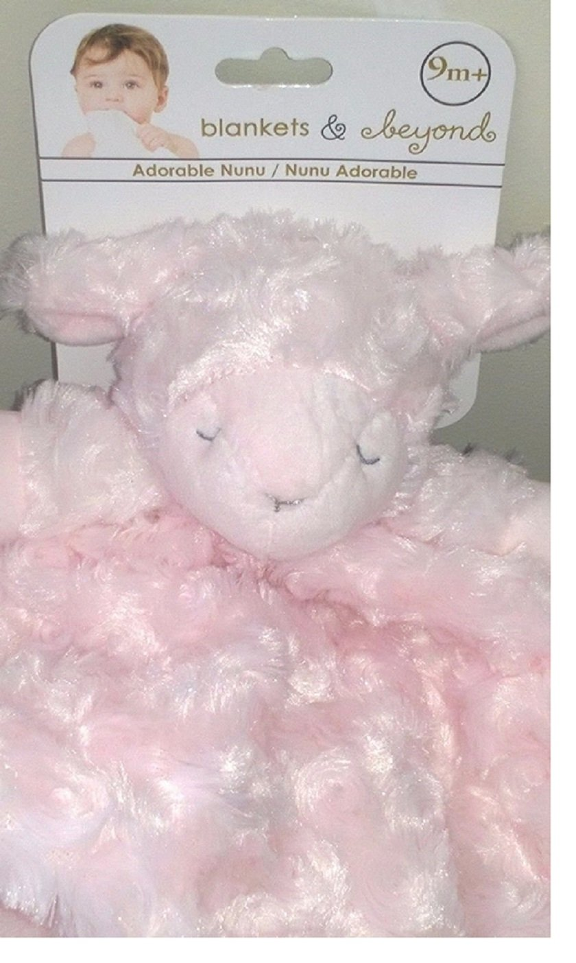 Infant Pink Swirl Security Blankets /& Beyond Lamb