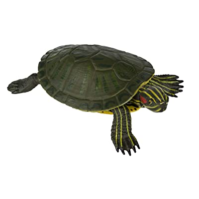 Safari Ltd Incredible Creatures Red-Eared Slider Turtle: Toys & Games