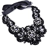 Holylove 2 Colors Statement Necklace for Women Novelty Costume Jewelry 1 Pc with Gift Box