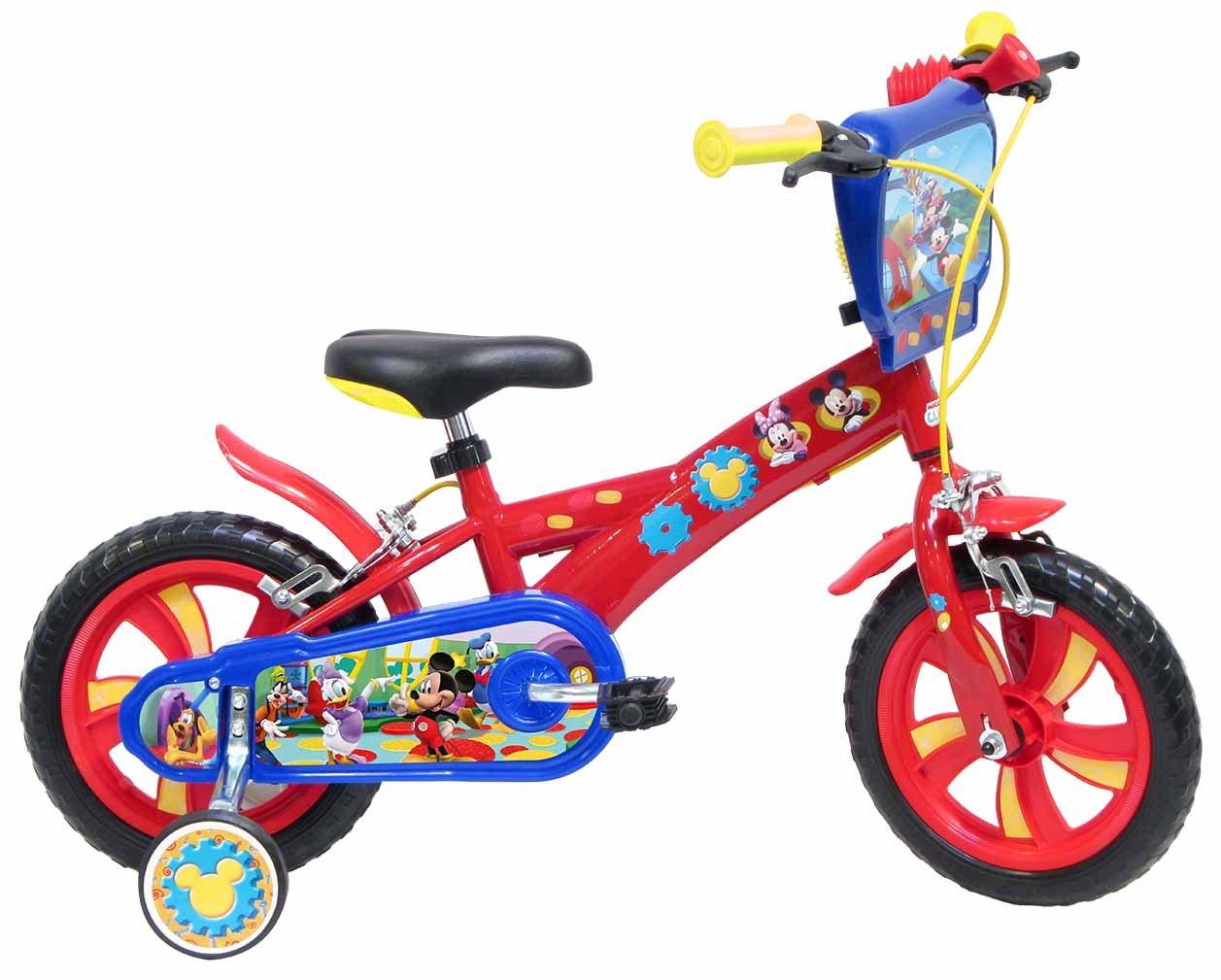 Disney Mickey Mouse - Bicicleta con ruedines DENVER BIKE_13372 Disney^Mickey Mouse