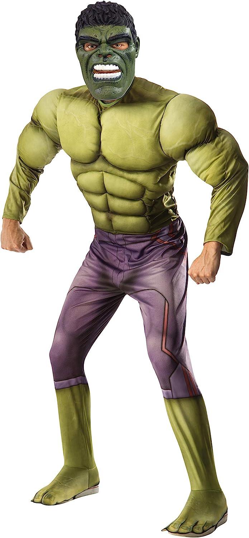 Marvel - Disfraz de Hulk para adulto, Talla única (Rubies 820686 ...