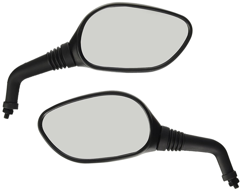 Lampa tama/ño 8mm Espejos Pareja Scooters aprobados Filete