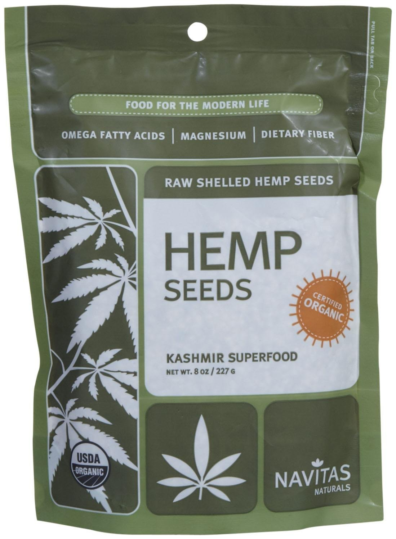 Navitas Naturals Organic Raw Hemp Seeds - 8 oz
