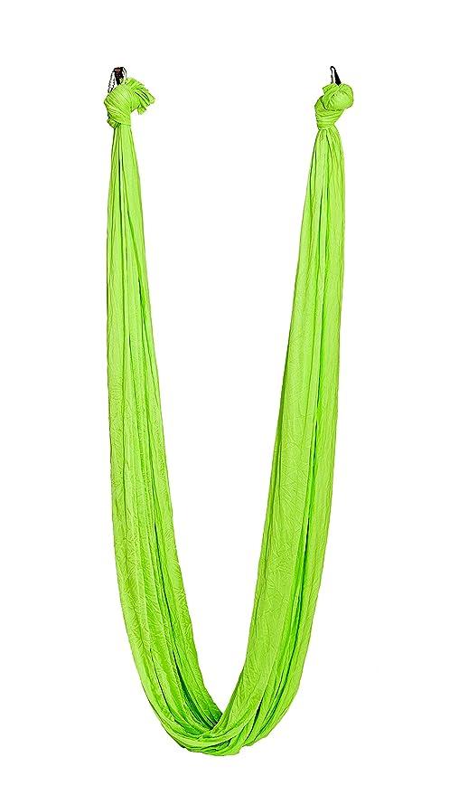 ELINA PILATES Aerial Yoga Verde 500 * 280cm: Amazon.es ...