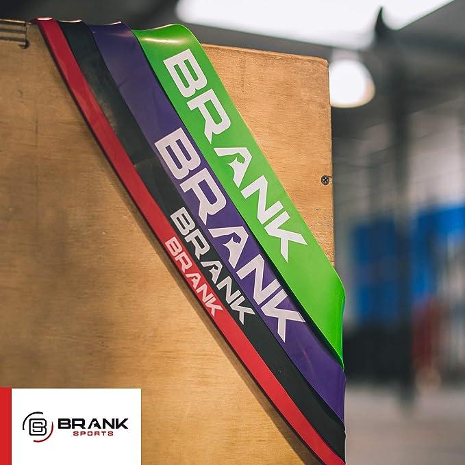 BRANK SPORTS Banda elástica de Deporte para musculación y Fitness ...
