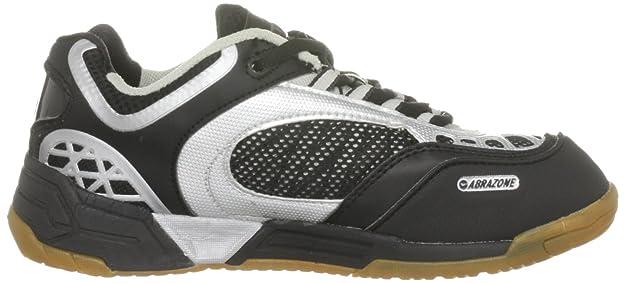 S701 4:SYS C000890/021/01 - Zapatillas de squash para mujer, color negro, talla 42 Hi-Tec