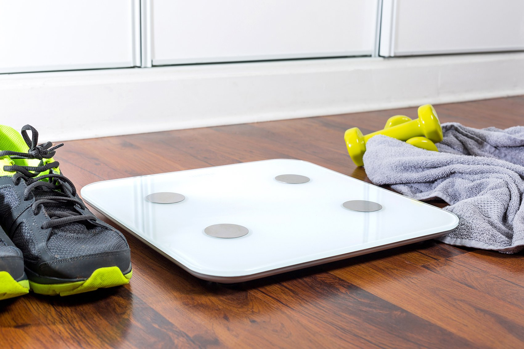 iHealth Core Wireless Body Composition Scale for Apple and Android - Measures Body Fat, BMI, Muscle Mass, and More for 10 Users by iHealth (Image #4)