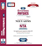 Errorless Physics for Neet/AIIMS Based on Examination by NTA (Set of 2 Volume) 2019 Edition by Universal Book Self Score