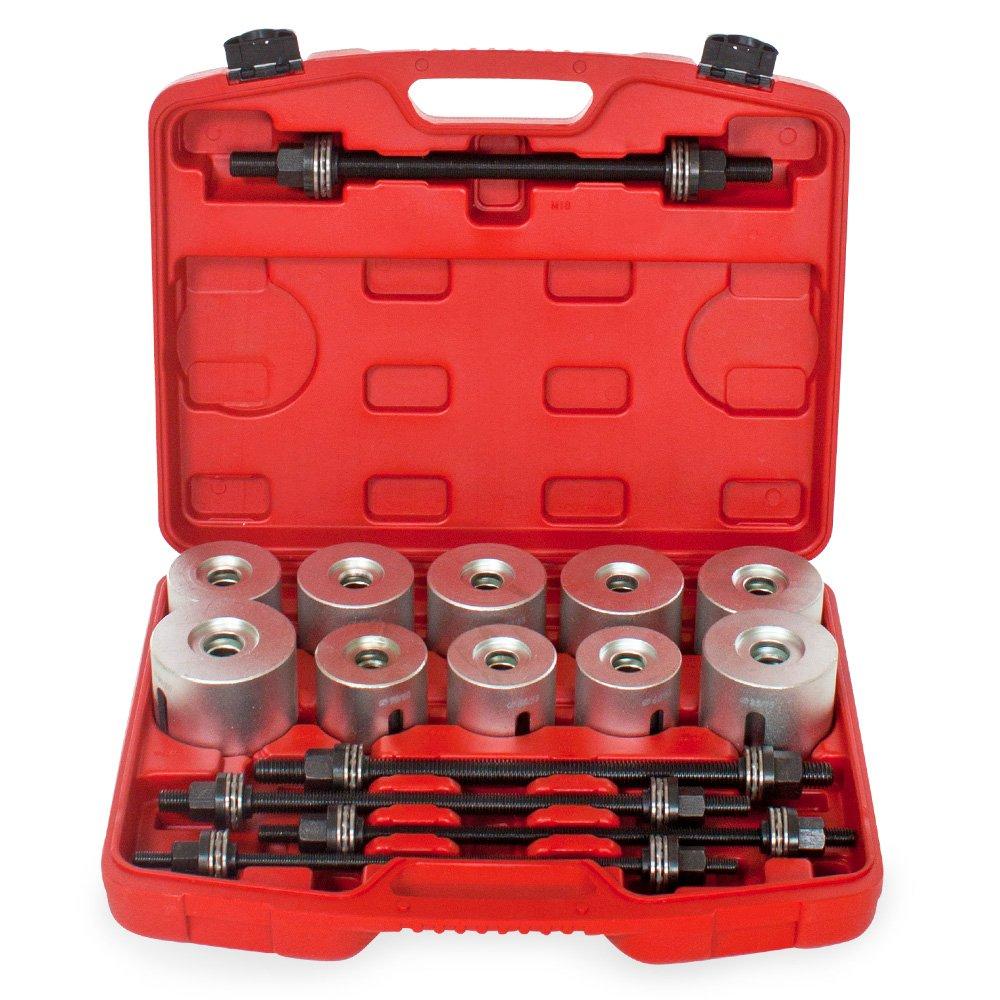 TecTake 27-teiliges Lagerabzieher-Set Trennwerkzeug f/ür Montage und Installation von Lagerbuchsen