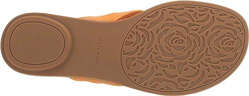 Taryn Rose Womens Karissa Slide Sandal 9.5 M M US Marigold