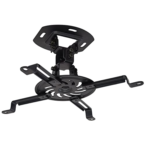 VIVO Universal Adjustable Black Ceiling Projector/Projection Mount Extending Arms (MOUNT-VP01B)