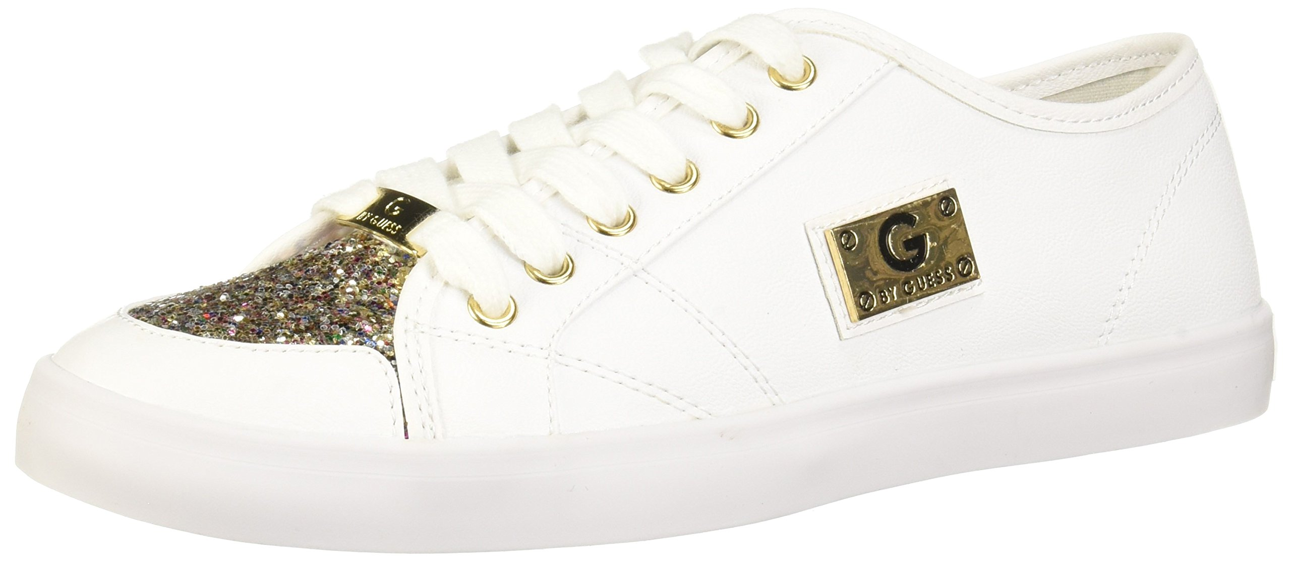 Lace-Up Glitter Sneakers Shoes (5.5