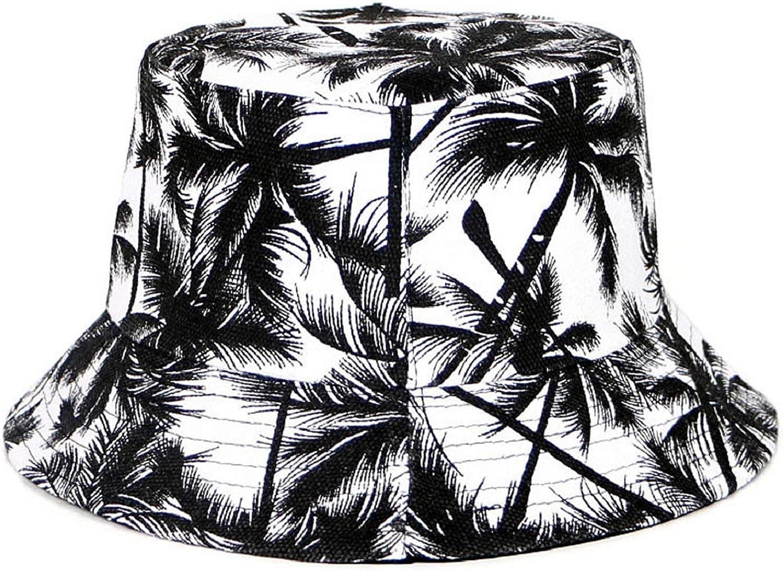 Voqeen Cappellino da Pescatore Unisex Uomo Estate Reversibile Pescatore Cappelli Donne Frutta Stampa Pieghevole Esterno Moderno Cappellino Protezione UV