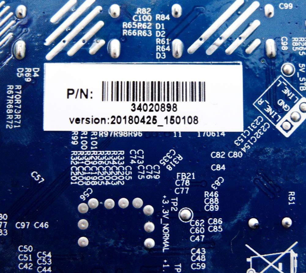 Polaroid 34020898 Power Supply Board for 40GSR3000FB