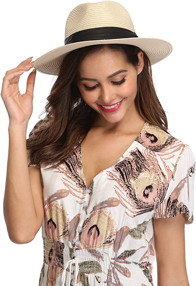 适合所有女性的可爱,秀气,防晒帽