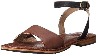 Bogs Women's Memphis Strap Leather Sandal, Cinnamon, ...