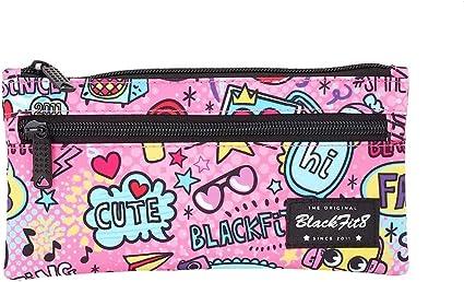 Blackfit8 BLACKFIT8-Manualidades/Escolares Unisex Adulto Estuche Doble 841940-029 PORTATODO Dos CRE Fab 22x11x, Multicolor, Talla única (SAFTA 1): Amazon.es: Oficina y papelería