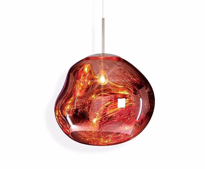 Plafoniera Grandi Dimensioni : Shop plafoniera pvc moderno lampadario led lampada lava