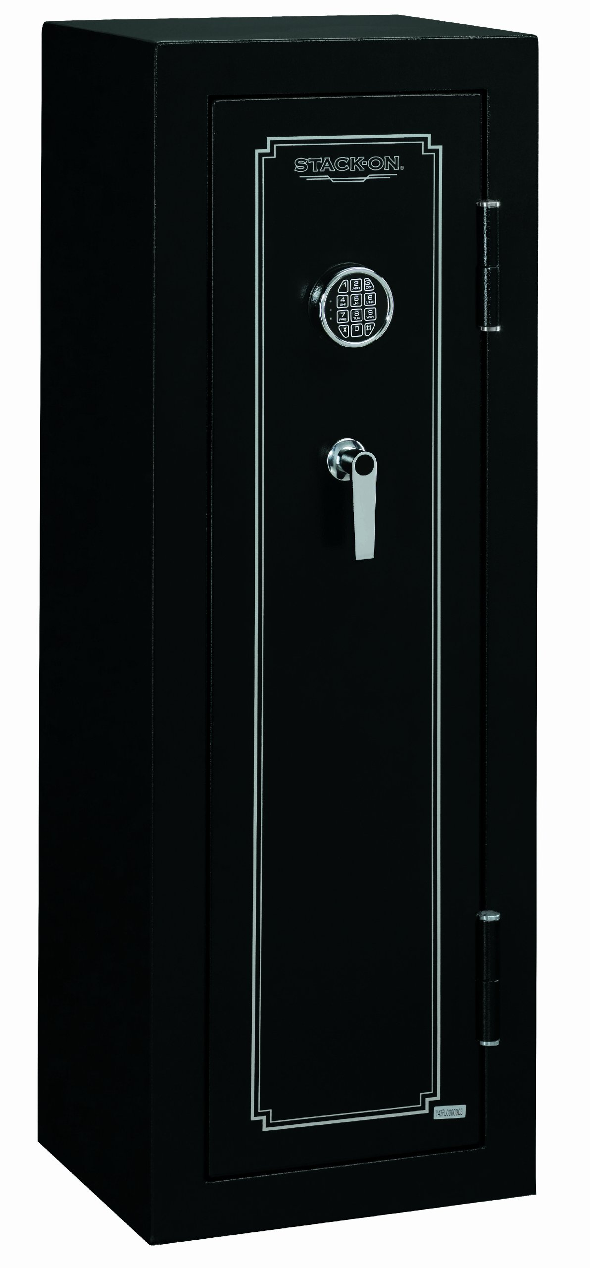 Stack-On FS-8-MB-E 8-Gun Fire Resistant Safe with Electronic Lock, Matte Black by Stack-On