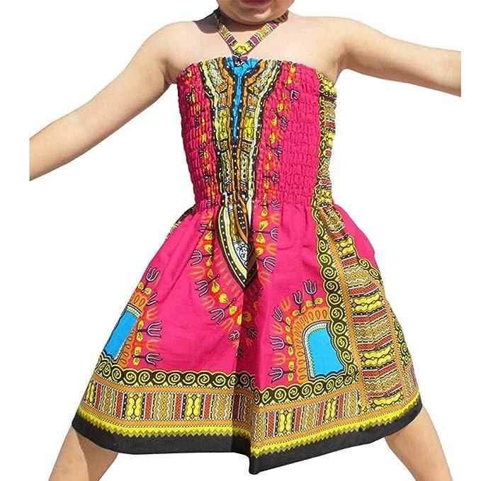 Vestido de Princesa de 2 a 7 años, para niña, sin Mangas ...