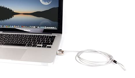 Duragadget - Candado antirrobo para ordenador portátil Apple MacBook, MacBook Pro Core 2 Duo,