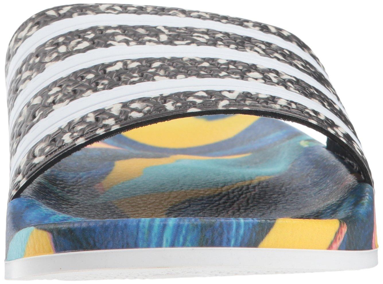 adidas Originals Women's Adilette Slide US|White/Black Sandals B077X9Y6KS 8 B(M) US|White/Black Slide ce9633
