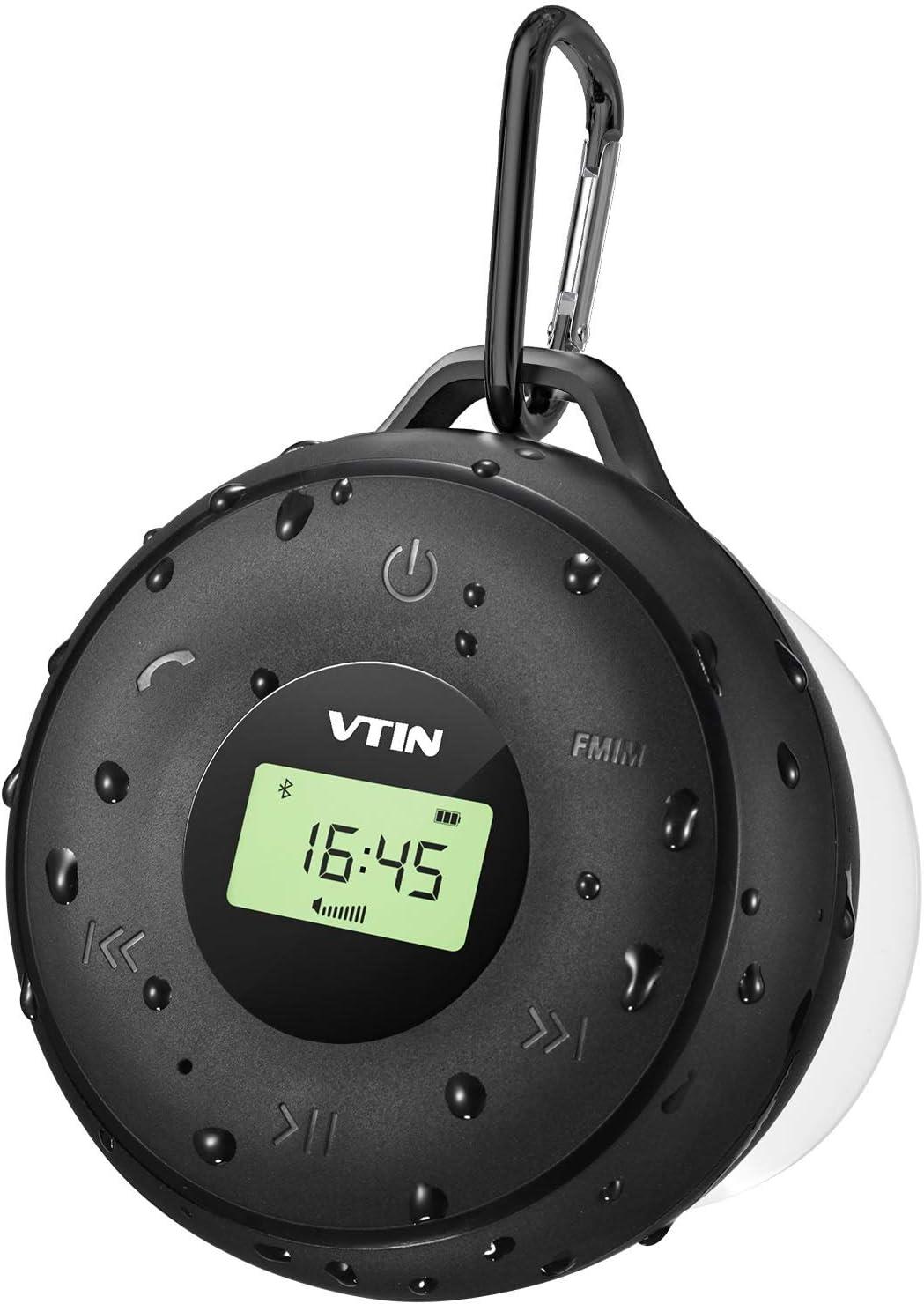 VTIN R4 Altavoz Bluetooth 20W, Altavoz Portatil Bluetooth 5.0, 30H de Reproducción, Altavoz Exterior con Micrófono, AUX/TF, para Móvil, Tabletas, MP3, Fiestas, Viajes