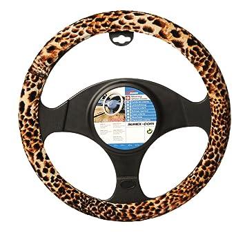 Cartoon Steering Wheel Cover Flower Embroidery Car Steering-Wheel-Covers  Auto Interior Steering Hub