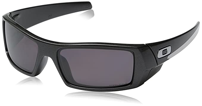 Oakley Men\u0027s Gascan Polarized Rectangular Sunglasses, Granite/Prizm Daily,  ...