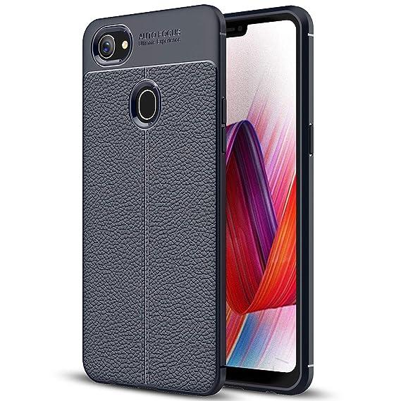 half off 92bbf 8c3e6 Amazon.com: Oppo F7 Case, Oppo F7 Leather Case, Soft Case Anti-Slip ...