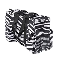 7-Pocket Tote Bag With Zipper, All-purpose Utility Organizer